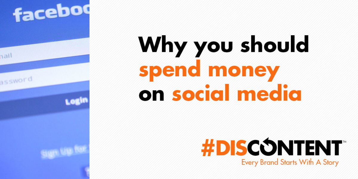 Why you should spend money on social media